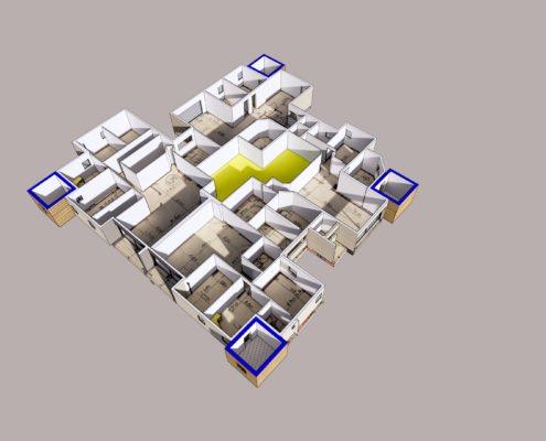 תוכנית פרספקטיבית-תוספת מרחבים מוגנים